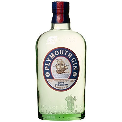 Plymouth Gin Navy Strength Gin (1 x 0.7 l) mit Schweppes Ginger Ale, 6er Pack (6 x 1.25 l)