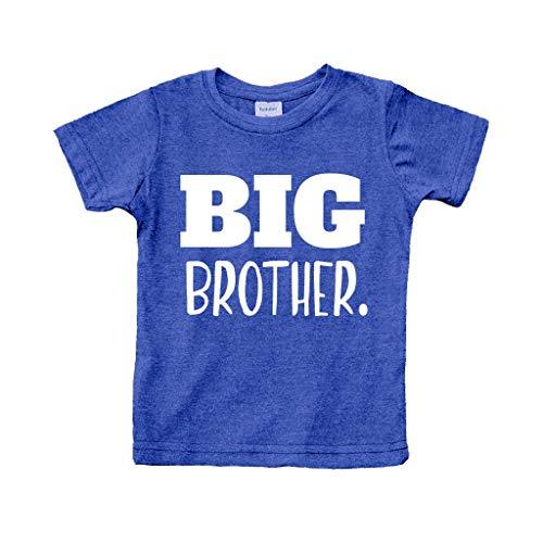 Unordinary Toddler Big Brother Camisa para bebé Promovido al Mejor Anuncio de Hermano Mayor para bebés, Azul carbón, 2 Años
