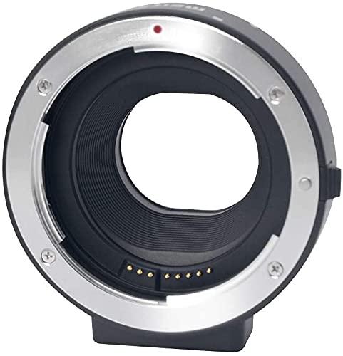Mcoplus electrónico Auto foco adaptador de tubo de extensión para lente Canon EF-S EOS M EF-M cámara de montaje