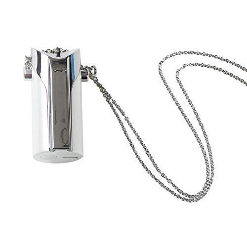 MGKMG Luftreiniger Gesundheit/Körperpflege Tragbare Negativ-Ionen-Sauerstoff-Stab Tragbarer Halskette Luftreiniger Lufterfrischer effektiv entfernen PM2.5 Staub Schadstoffe,Weiß