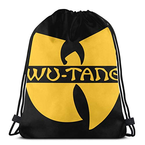 Elizadaisy Wu-Tang Drawstring Backpack/Cosmetic Bag/Coin Purse/Bracelet/Necklace/Headband/Keychain/Sticky Note