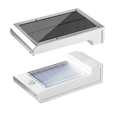 Goldlion66 ABS & PC & Aluminum Durable Lightweight Outdoor Security Wireless Waterproof 49LED Solar Light PIR Motion Sensor Wall Light