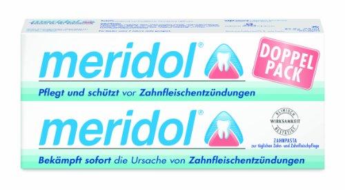 Meridol, Tooth & tongue gel–Dentifricio combatte la principale causa di orale Malodour–Confezione da 2x 75ml