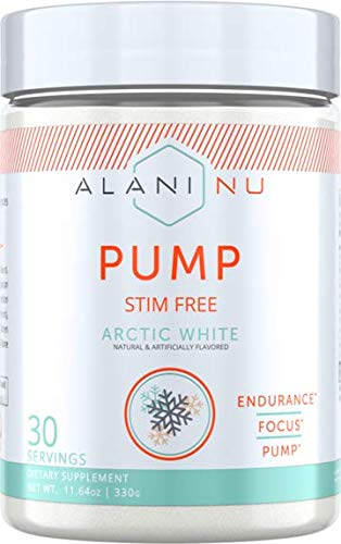 Alani Nu Pump Stim Free- Arctic White- 30 Servings