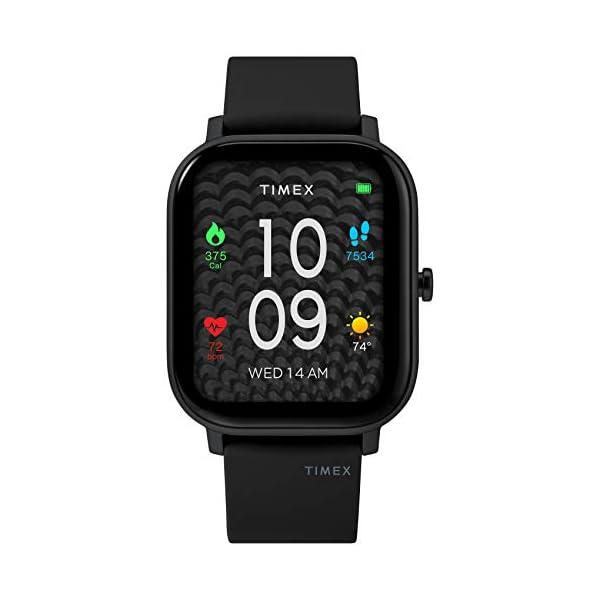 Timex Unisex Metropolitan S Smartwatch with Silicone Strap