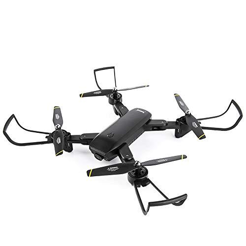 HX0945 Fernbedienung Flugzeug Direkte Vier-Achsen-Mini-Drohne Aerial Vehicle HD Professionelle Long-Life Endurance-Spielzeug-Modell Dual-Kamera Switching-Verfolgungsfunktion Folding Lagerung