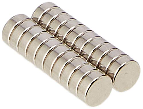 Magnet Expert 4 mm de diamètre x 1.5 mm d'épaisseur N42 Aimant Néodyme - 0.36 kg Pull (paquet de 20)