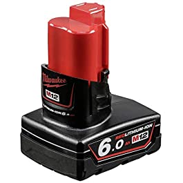 Milwaukee 4932451395 Batterie 12 V 6 Ah Red Lithium-ION Multicolore