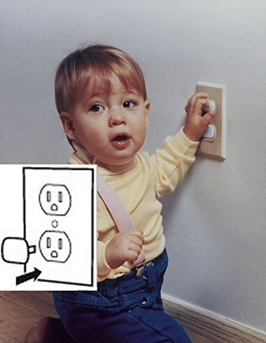 Mommy's Helper Outlet Plugs 144 Pack by Mommy's Helper (English Manual)