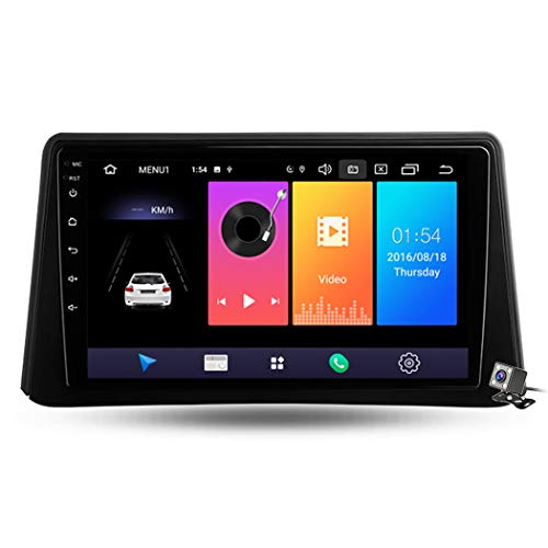 Android 9.1 Auto Stereo GPS Navigation für Opel Mokka 1 2012-2016, Unterstützt RDS FM AM Auto Radio/Multimedia/Dual USB DVR DSP MP5/Bluetooth Lenkradsteuerung,4 core,WiFi: 1+16GB