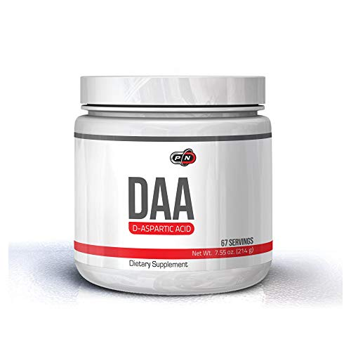 DAA Supplement Powder Men D-Aspartic Acid Testosterone Booster 3000 mg High Strength Support Natural Testosterone Levels Contributes Muscle Growth Boost Stamina Performance 200 Grams 67 Servings