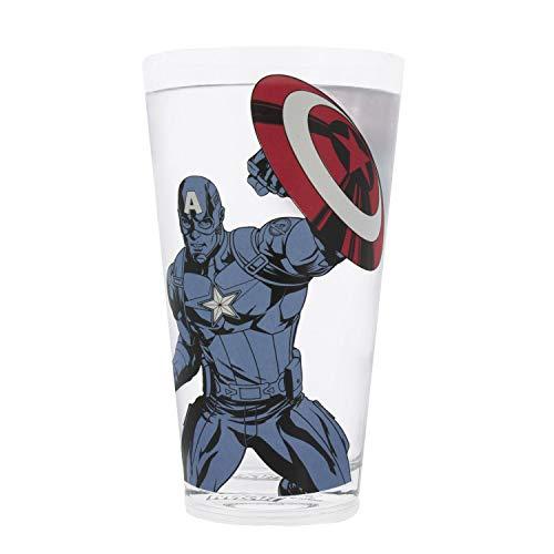 Marvel Aven Capt America Glasscolour Change Glass