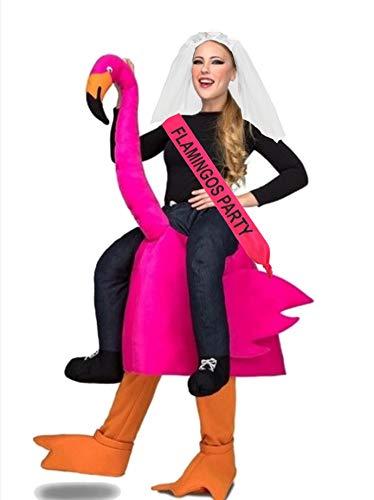 Disfraz de Flamenco novia con banda a hombros - despedidas de soltera