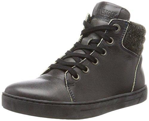 BIRKENSTOCK Shoes Unisex-Kinder Bartlett Hohe Sneaker, Grau (Asphalt), 39 EU