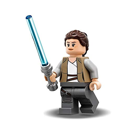 LEGO Star Wars The Last Jedi Minifigure - Rey (with Jedi Lightsaber) 75200
