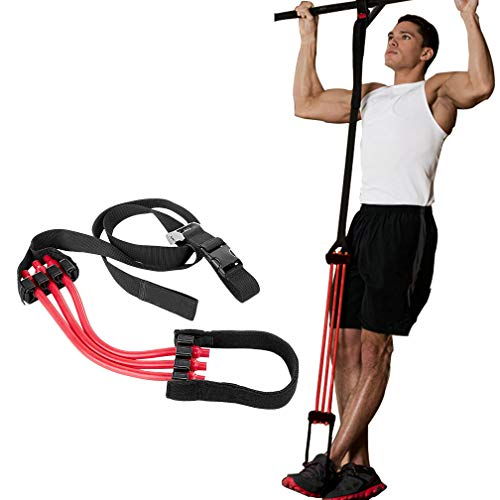 KIKIGOAL Pull-Up Assistance Band, Premium Powerlifting Assist Band System to Improve Arm, Shoulders and Chest Strength