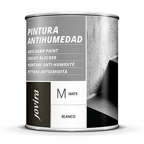 Pintura Antihumedad Y Antimoho Blanca Interior Marca JOVIRA PINTURAS