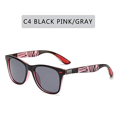 Gafas de Sol Sunglasses Gafas De Sol Polarizadas Clásicas De Diseño Hombres Mujeres Conducción Gafas De Sol De Montura Cuadrada Gafas De Sol