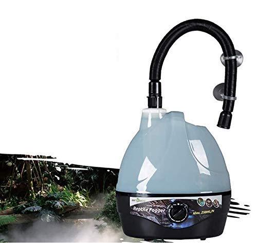 YEIU Reptiles y Anfibios Higrostatos-2 L Tanque Anfibios Reptil Fogger humidificador vaporizador Niebla Maker generador