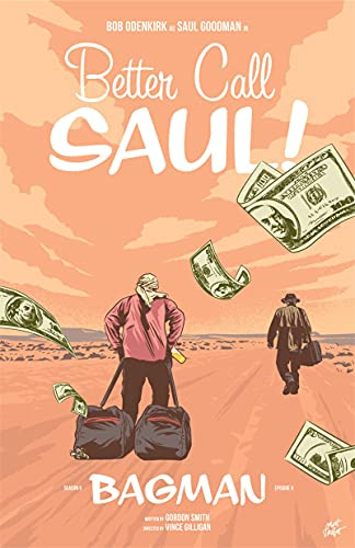 Weijiajia Best Call Saul Classic Movie Serie de TV Imagen Sala de Estar Dormitorio Sofá Arte de la Pared Decoración para el hogar Pintura en Lienzo Póster 50x70cm F-243