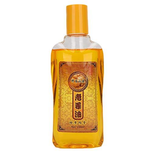 230 ml Gember Massage Essentiële Olie Schrapen Stress Relief Douche Lichaamsverzorging Olie