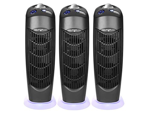 Read About Atlas Three Ionic UV Electrostatic Carbon Filter Air Purifiers no Main Filter Replacement