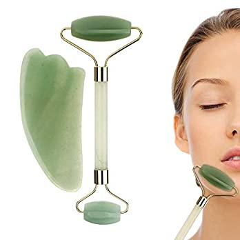 Dayons Anti-ageing Natural Jade – Roller for Face and Body with Gua Sha