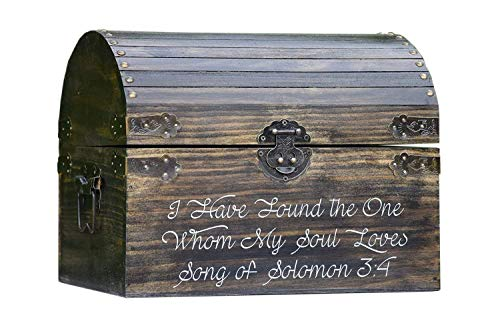 I Have Found the One Whom My Soul Loves Song of Solomon 3:4 - Wedding Card Box - Love Box -Love...