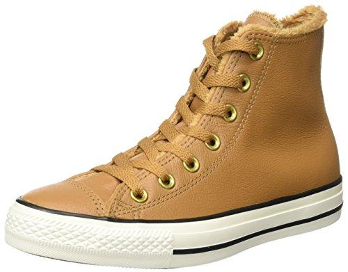 Converse Herren CTAS HI EGRET Hohe Sneaker, Braun (Chipmunk), 39 EU