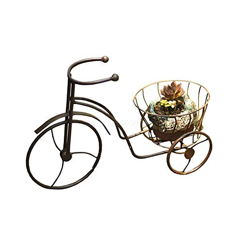 JKXWX Europese Mini-driewieler Fiets Vorm Creatieve Plant stand Multi-flesh Tieyi Bloem Pot Arrangement