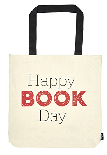 Moses libri_x Shopper Happy Book Day | draagtas 100% katoen | natuur
