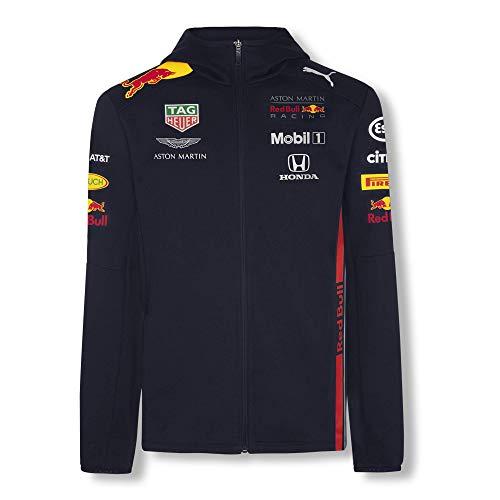 Red Bull Racing Herren Aston Martin Team Hoody 2019 Pullover, Blau (Navy Navy), Large (Herstellergröße: L)
