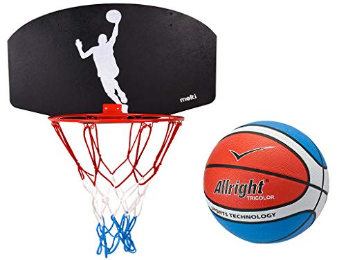 MOLTI Basketballkorb Basketballset mit Ball Basketball Korb Basketballspiel Player Set