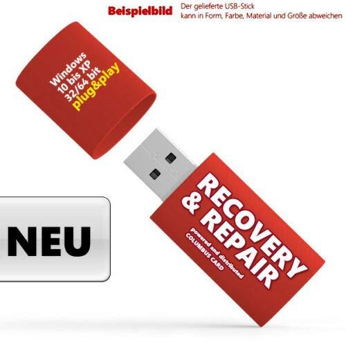 Recovery & Repair USB Stick für Windows 10 & 7 & 8,Vista,XP Acer, HP, Lenovo N E U