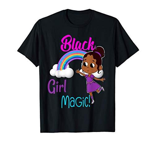 Black Girl Magic Melanin Pride African American T-Shirt