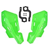 Motorcycle Handle Bar Hand Guards Plastic Protector replacement for SX SXF EXC XCW Dirt Bike Motocross ATV 22mm 7/8' GREEN