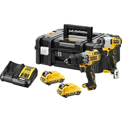 DeWalt DCK2111L2T 12v XR Cordless Combi Drill and Impact Driver Kit 2 x 2ah Li-ion