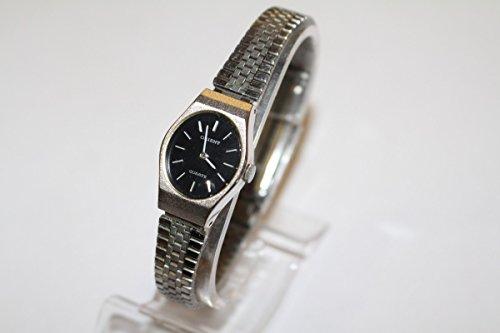 original Vintage 1970er 70s Armbanduhr Bamen Uhr Orient Quartz Dezent schwarz