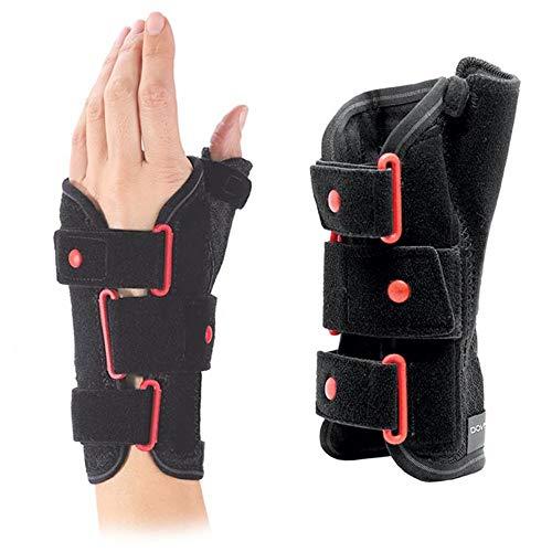 DONJOY Respiform Plus, kurze Bandage 23 cm, für Handgelenke mit Daumengriff, links, Größe Medium, ca. 16-19 cm, CE-Kennzeichnung