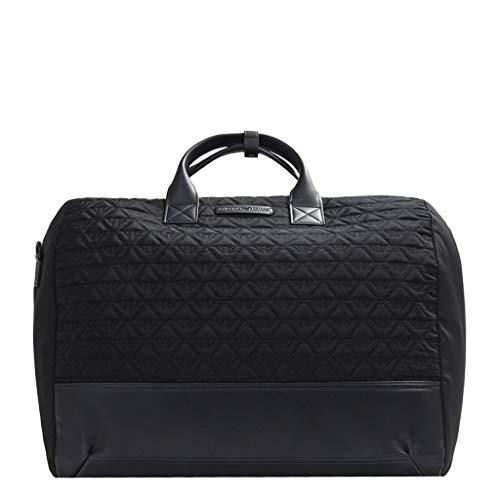 Emporio Armani Herren Duffle Quilted Bag Reisetasche Gesteppte Weekend-Tasche aus Nylon, Navy, Einheitsgröße