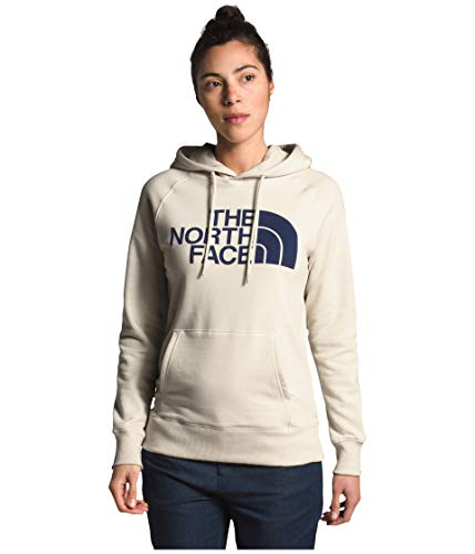 The North Face Women's Half Dome Pullover Hoodie, Vintage White, M