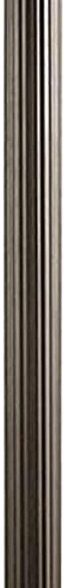 Quality inspection Kichler 9595OZ Accessory Outdoor Fluted Post Bronze Olde Online limited product