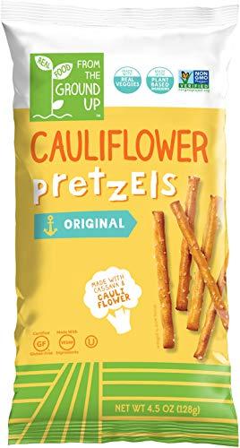 From the Ground Up Cauliflower Pretzels  6 Pack Sticks