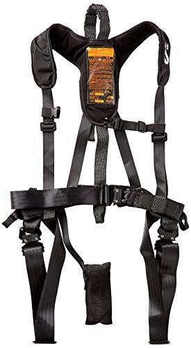 Summit Treestands Men's Sport Safety Harness, Medium, Black, (Model: SU83088)