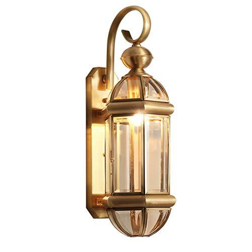 WRMOP wandlamp retro binnen buiten lamp glas waterdicht tuin hotel slaapkamer studeerlamp Art gang R/20/01/03