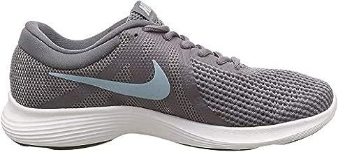 Nike Women's Revolution 4 Sneaker, Gunsmoke/Ocean Bliss - Dark Grey, 7 Wide US