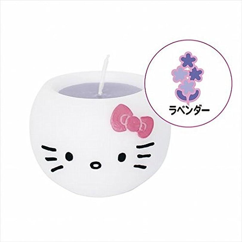 流星手伝う消費するカメヤマキャンドル( kameyama candle ) ハローキティアロマキャンドル 「 ラベンダー 」