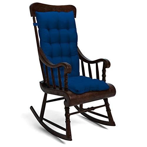 Trendcode Rocking Chair Cushion Pad Seat:19x17x3 inch Seat Back:22x17x3 inch,Beige