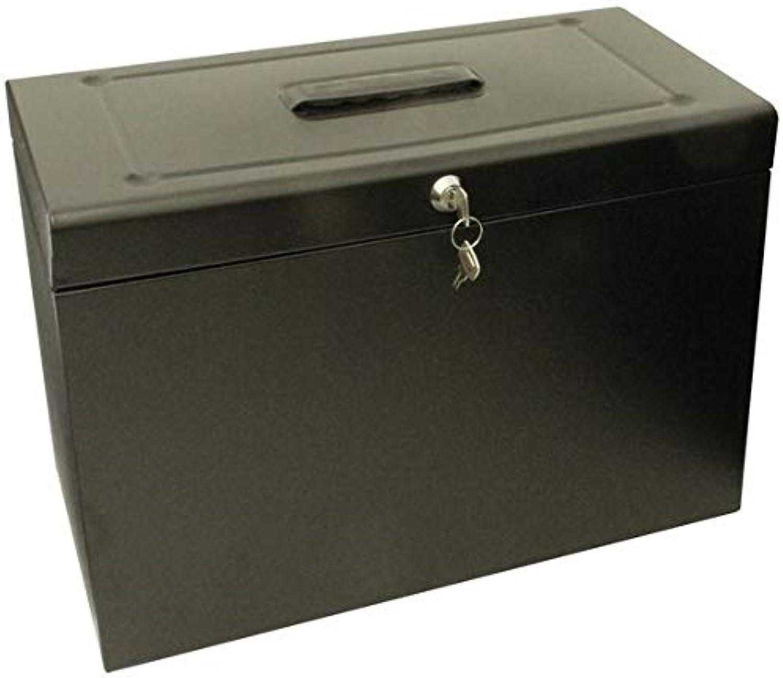 Foolscap Metal Filing Box - schwarz Kanzleipapier, Kanzleipapier, Kanzleipapier, Metall, Schwarz B07N2J2Z8M | Export  cd29f4