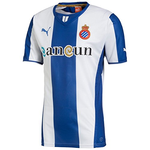 PUMA - Camiseta Oficial español Temp.13-14 Azul True Blue-White Talla:Large